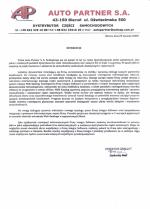 Wdrożenie Integra Web Katalog w firmie Auto Partner S.A.